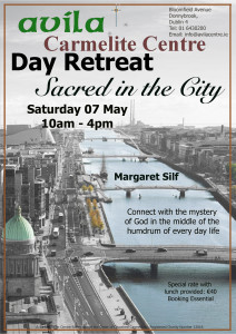 Sacred in the City - Margaret Silf - Avila Carmelite Centre, D.4 @ Avila Carmelite Centre | Dublin | Dublin | Ireland