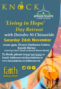 'Living in Hope' with Deirdre Ní Chinnéide @ Prayer Guidance Centre  | Knock | County Mayo | Ireland