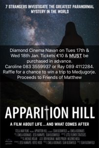 Film Apparition Hill @ Diamond Cinema  | Navan | County Meath | Ireland