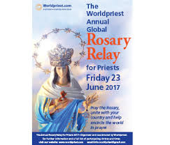 The Global Rosary Relay  - 23/6/2017 @ see below