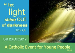 Let Light Shine Out of Darkness @ Ballyvaloo Retreat and Conference Centre | Blackwater | County Wexford | Ireland
