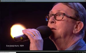 Standing Ovation On Britains Got Talent Tv Show For Singing Priest