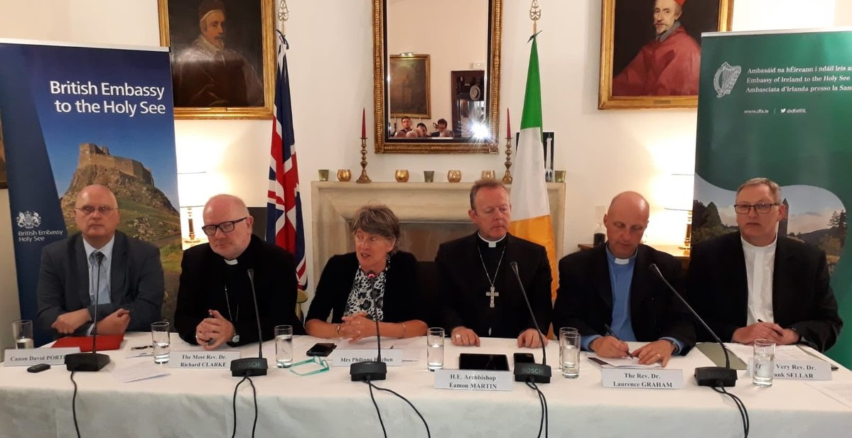 Church Leaders Pay Tribute To Good Friday Agreement In Rome