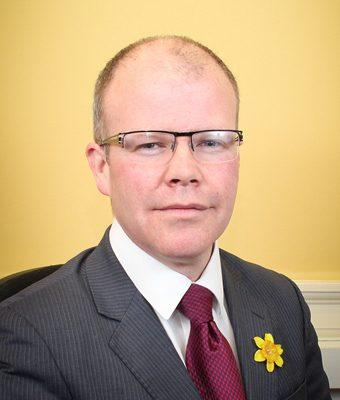 Head and shoulders photos of Meath West TD Peadar Tóibín