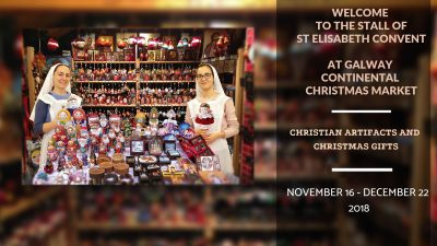 Sisters of Saint Elisabeth Convent at Christmas Fairs in Ireland @ Galway Continental Christmas Market   | Galway | County Galway | Ireland