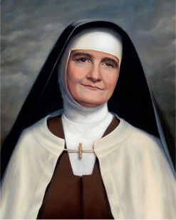 Painting of a woman in a nun's habit