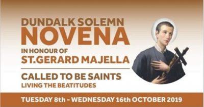 Solemn Novena to St Gerard Majella @ St. Joseph's Redemptorist Church