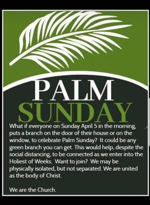 By Bough Branch Or Twig You Can Mark Palm Sunday Tomorrow Say Acp Catholicireland Netcatholicireland Net